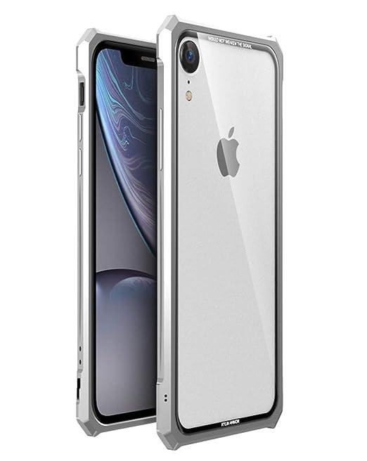 check out 943ec 62738 Amazon.com: HIKERCLUB iPhone XR Case Luxury Aluminum Metal Bumper ...