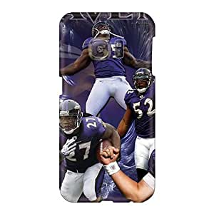Anti-Scratch Cell-phone Hard Covers For Samsung Galaxy S6 (Vhg17471Mjxz) Customized High-definition Baltimore Ravens Pattern