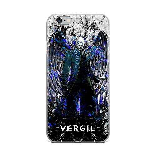 iPhone 6 Plus/6s Plus Case Anti-Scratch Gamer Video Game Transparent Cases Cover Blue Darkness Gaming Computer Crystal Clear]()