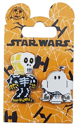 Ghost The Movie Costume (Disney Pin - Star Wars - Trick or Treat C-3PO / R2-D2)