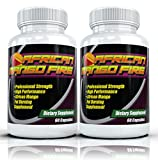 African Mango FIRE (2 Bottles) The #1 Rated African Mango Fat Burning Supplement w/ Garcinia Cambogia, Best All-Natural Diet Pill