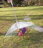 Pet Umbrella (Dog Umbrella) Keeps your Pet Dry and Comfotable in Rain,