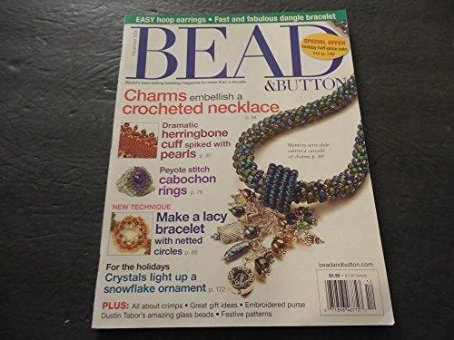 Bead Button Dec 2005, Hoop Earrings, Dangle Braclets