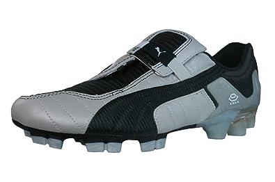 1f3a7da4c PUMA V Konstrukt III GCi FG Mens Leather Soccer Boots - Cleats-Silver-7.5