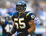 Junior Seau San Diego Chargers Autographed Signed 8 x 10 Photo - COA - NM/MT - MT Condition!