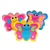 Adorable Plush Butterfly Child Size Decorative Throw Pillow (1)