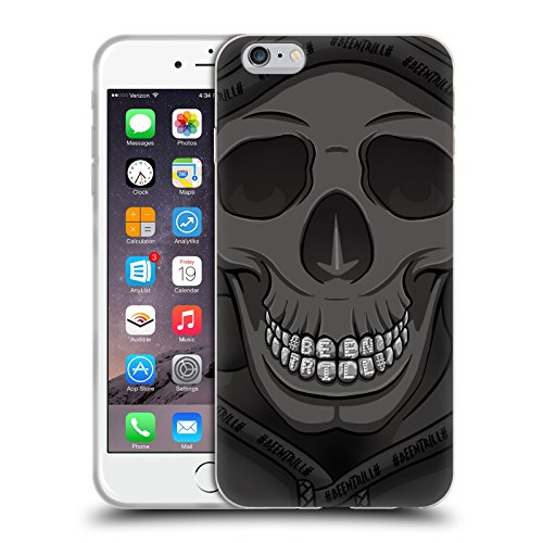 Official Been Trill Hoodies Silver Bling Blings Soft Gel Case for Apple iPhone 6 Plus / 6s Plus