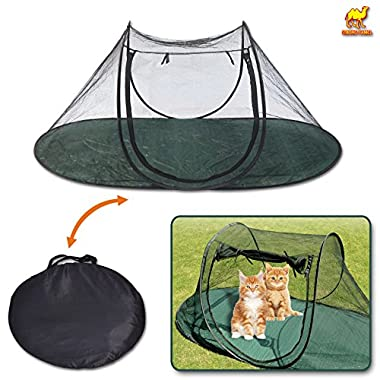 Strong Camel Pet Fun House Cat Dog Playpen Feline Funhouse Portable Exercise Tent with Carry Bag  sc 1 st  GoSale.com & playpen tent | Compare Prices on GoSale.com