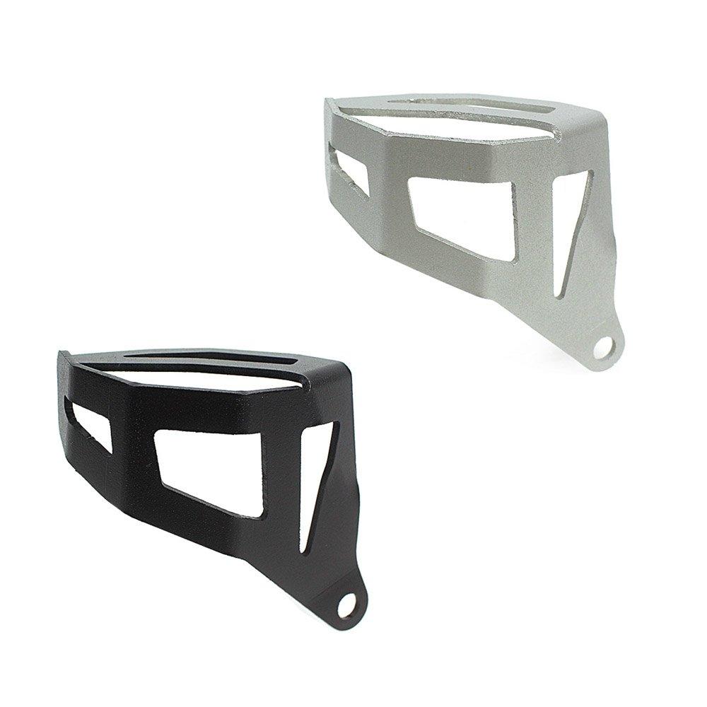Moto en aluminium Frein arrière Réservoir de liquide Coque de protection pour 2013et à BMW R1200gs R 1200GS ADV Adventure Eau refroidie Modèle 20142015201613141516, noir FATExpress