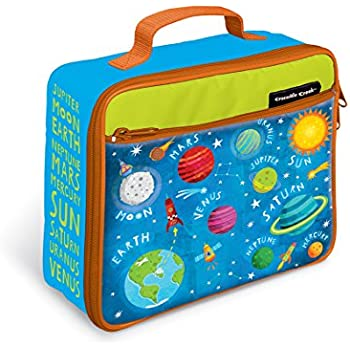 Crocodile Creek Eco Kids Solar System Insulated Kids' Lunchbox with Handle Kids', 10""