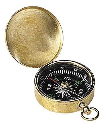 saif. nautical. Store Authentic Models Small真鍮ポケットコンパス