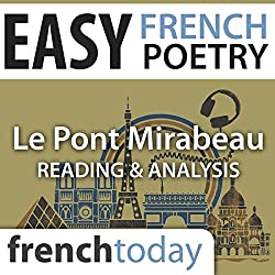 Le Pont Mirabeau (Easy French Poetry)