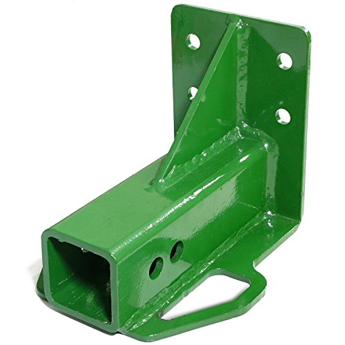 John Deere Accessories - Titan Attachments Rear Trailer Hitch Receiver John Deere Gator 4x2 6x4 Old Style Bolt On Green