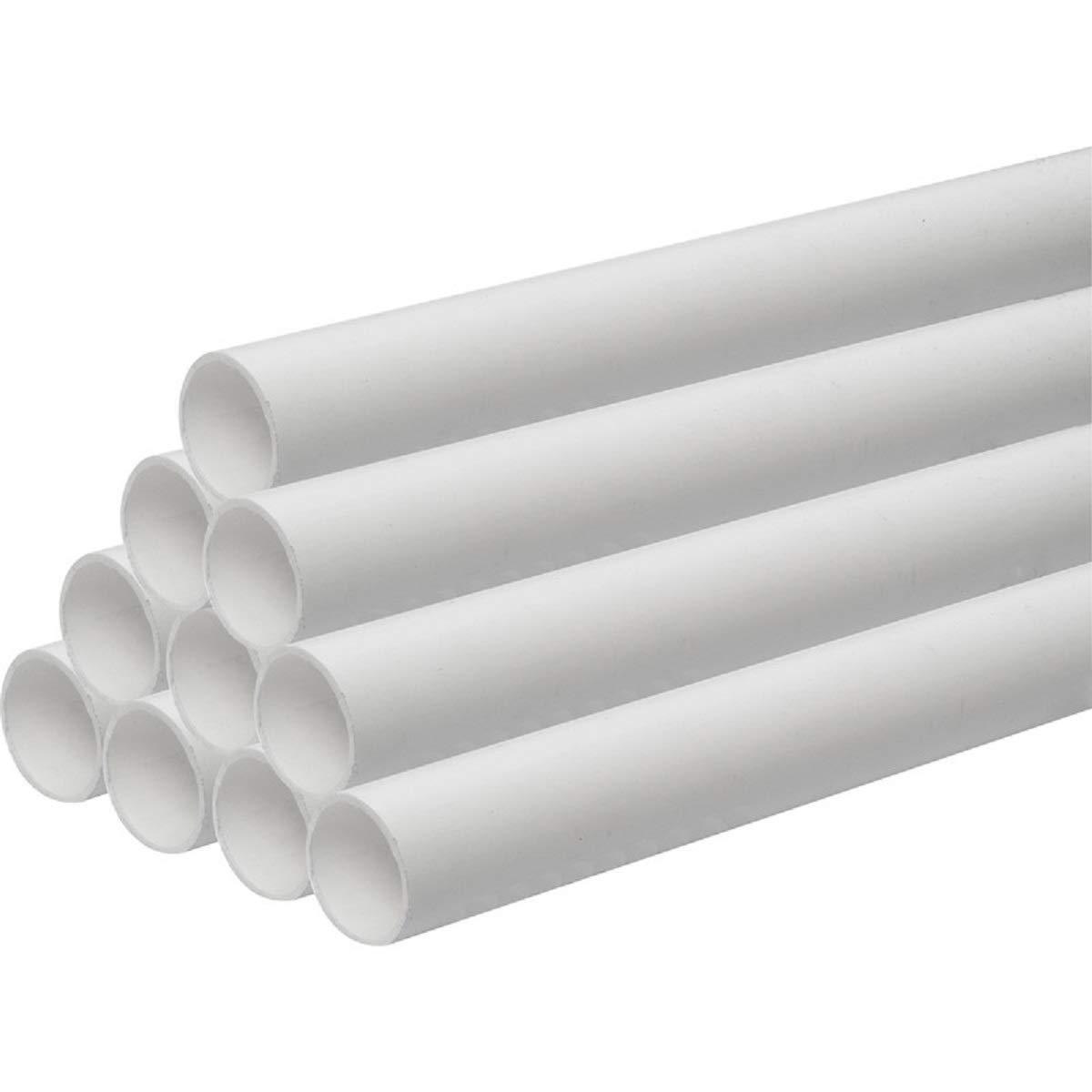 2 x 600 x 40 mm oder 32 mm zuschneidbar Solvent Schwei/ßrohr f/ür Abflussrohre Schwarz oder Wei/ß