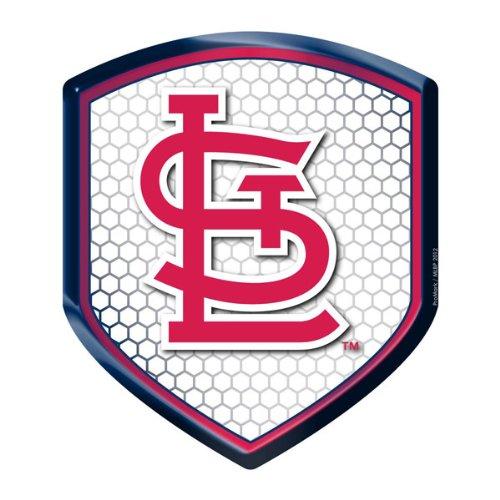 MLB St. Louis Cardinals Team Shield Automobile Reflector