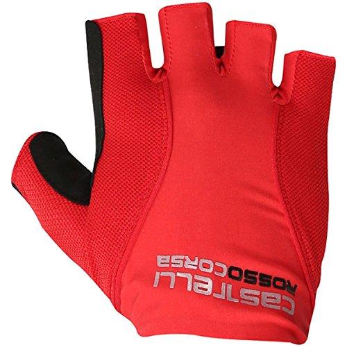 Castelli Rosso Corsa Pave Glove - Men's Red, L ()