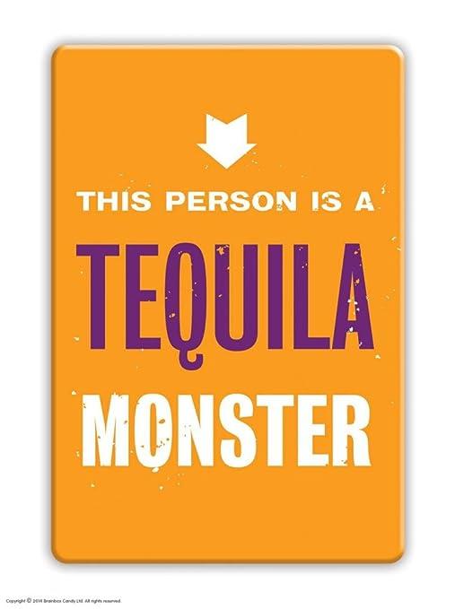 Tequila Monster imán para nevera: Amazon.es: Hogar