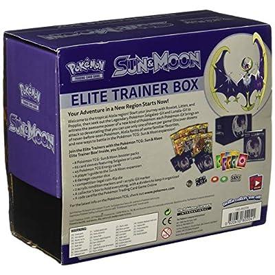 Pokemon Sun and Moon Elite Trainer Box Lunala: Toys & Games