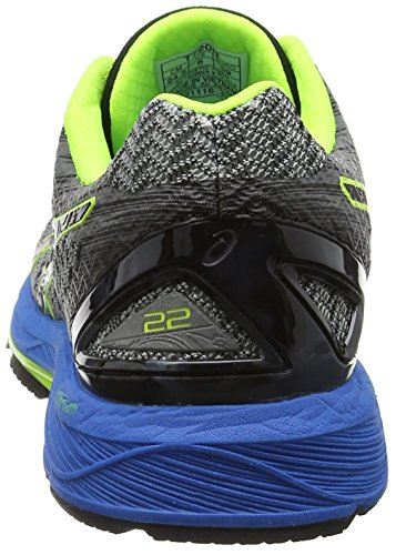 Asics Gel-Ds Trainer 22, Zapatillas de Running para Hombre Gris (Carbon / Black / Safety Yellow)
