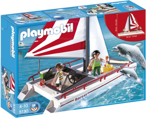 Review PLAYMOBIL Catamaran with Dolphins
