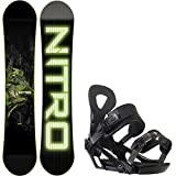 Nitro Marcus Kleveland Pro Model 146cm Youth Snowboard + Ride LX Bindings - Fits US Boots Sized: 5,6,7,8,9