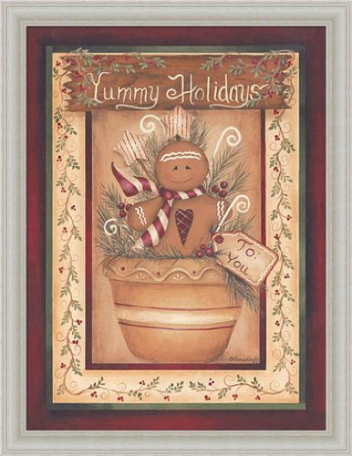 gingerbread man wall poster