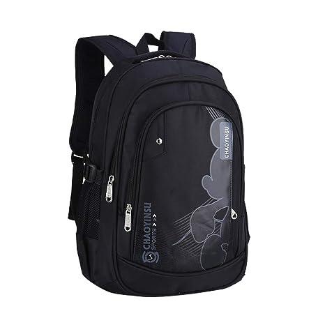 Jamie Soul Unisex Acampada Amplias Mountain Mochilas Tipo Casual Nylon Moda Bolsas para Portátil Simple Estampados