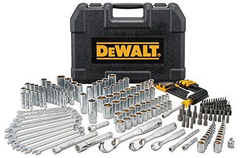 DEWALT DWMT81534 205Pc Mechanics Tool Set (Husky 10 Pc Deep Socket Set)