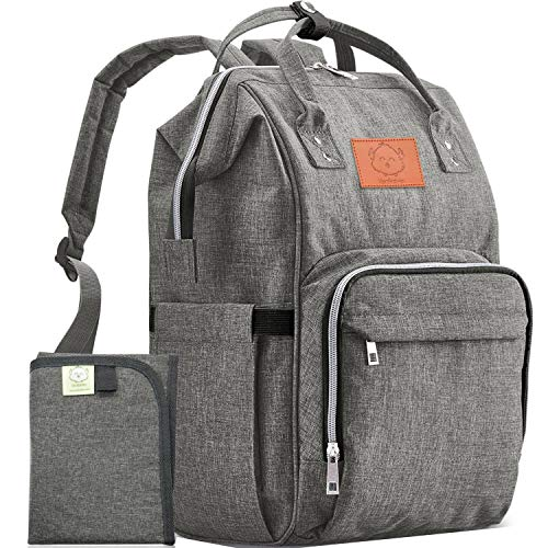 Diaper Bag Backpack - Large Waterproof Travel Baby Bags