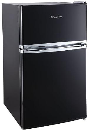 Russell Hobbs RHUCFF50B 50cm Wide Black Under Counter Fridge Freezer ... af8e25439e4e