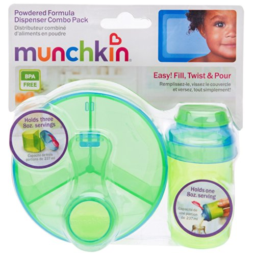 Munchkin Powdered Formula Dispenser Colors
