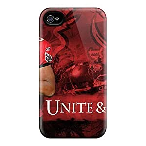 Excellent Iphone 4/4s Case Hard Cover Back Skin Protector Tampa Bay Buccaneers