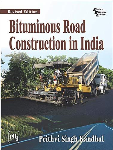 Buy Bituminous Road Construction in India Book Online at Low