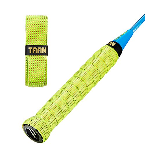 FJZ Perforated Super Absorbent and Anti-Slip Racket Grip for Tennis Overgrip,Badminton Overgrip,Squash Rackets,Fishing Poles,Racket Bike Bar and More