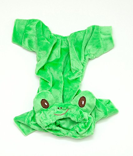 "Frog Small Dog Costume by Midlee fits 8"" Back Length"
