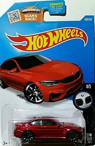 Hot Wheels 2016 BMW BMW Model M4 189/250, Maroon