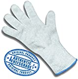 Keklle Cut Resistant Safety Glove - Protection From Knives, Mandoline and Graters - Soft Flexible with Stainless Steel Wire - One Glove