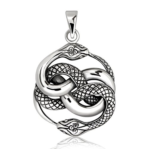WithLoveSilver 925 Sterling Silver Ouroboros...