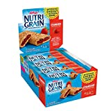 Kellogg's Nutri-Grain, Soft Baked Breakfast Bars, Strawberry, Made with Whole Grain, Bulk Size, 48 Count (Pack of 3, 20.8 oz)