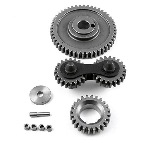 (fits Ford 302 351C Cleveland Dual Idler Noisey Timing Gear Drive Set)
