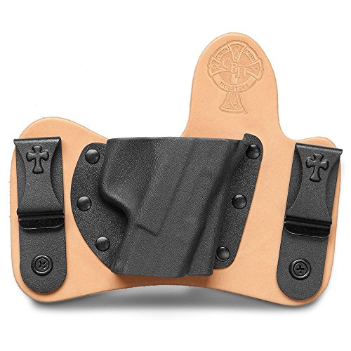 Crossbreed Holsters Minituck Smith and Wesson M&P Shield 9MM/.40 S&W Holster - Horse Hide - RH