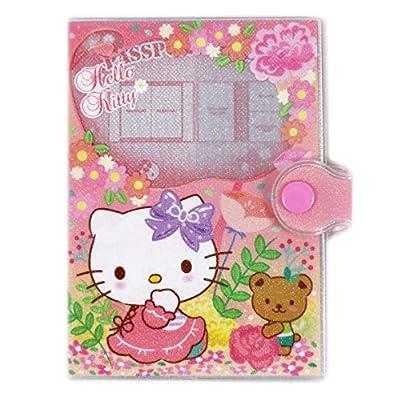 c7c1b90eb hot sale Hello Kitty Cute Dress and Teddy Bear Adorable Passport Holder