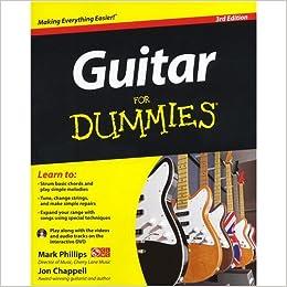 Guitar For Dummies: Amazon.es: Phillips, Mark, Chappell, Jon ...