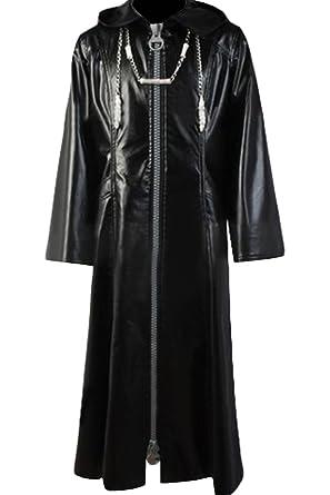 Amazon.com  Cosplaysky Organization XIII Kingdom Hearts Coat Roxas Costume   Clothing e3ea0a9f24d1