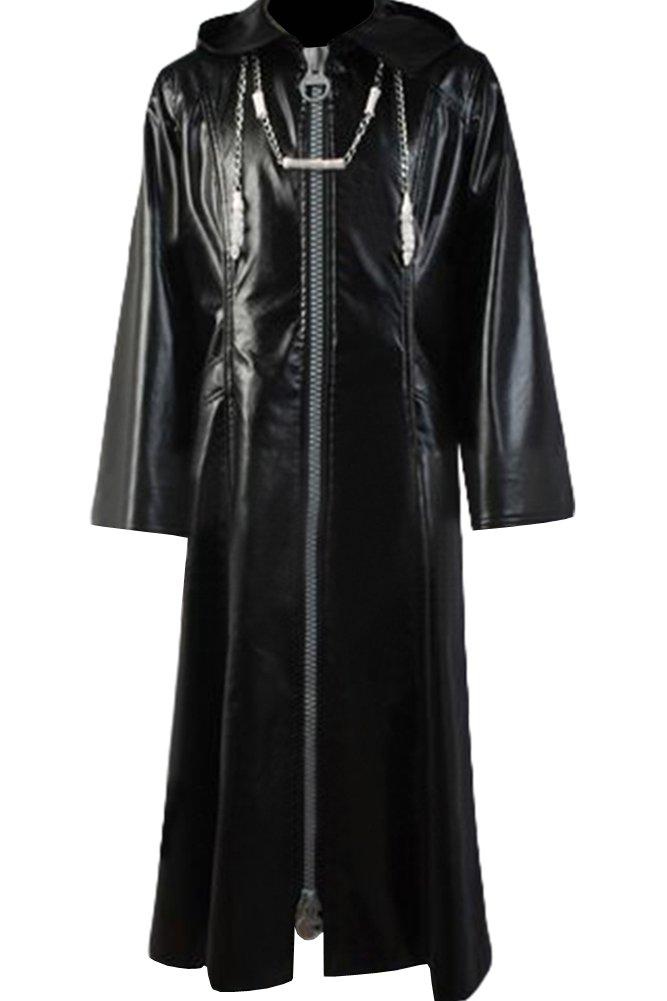 Cosplaysky Organization XIII Kingdom Hearts Coat Roxas Costume Big Zipper Version Large
