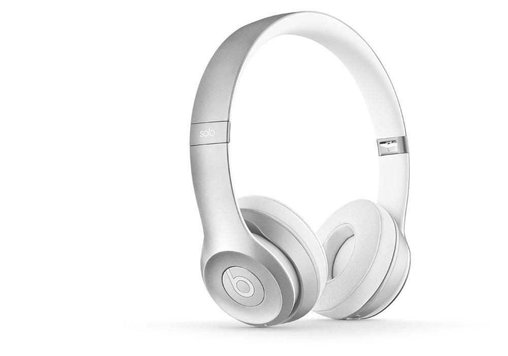 国内正規品Beats Solo2 ワイヤレスオンイヤーヘッドフォン Bluetooth対応 シルバー MKLE2PA/A B01547PAGC