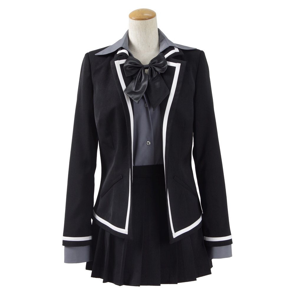High School Students School Uniform for Girls Japan Anime Cosplay Costumes Suit (custom made, Black)