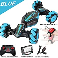 Heyean Remote Control Car Rechargeable, 2.4Ghz High Speed Remote Control Car, Stunt RC Car, RC Off Road Car, Gesture Sensing Twisting Vehicle Drift, Electric Toy Car Gifts for Adults & Kids