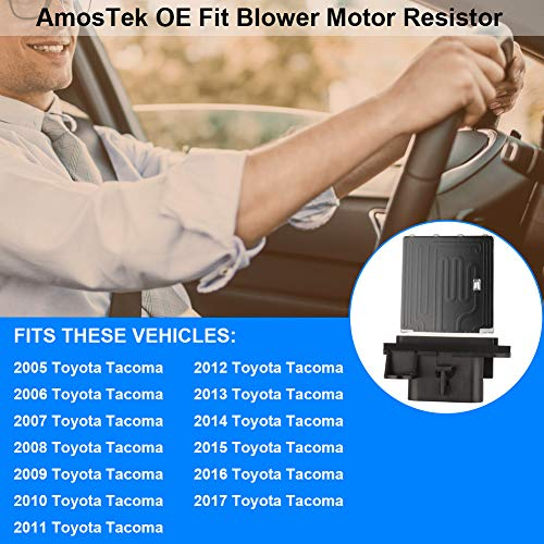 Toyota Tacoma Blower Motor Resister /& Wire Genuine OEM Set 2005-2015 87138-04052