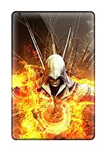 Elliot D. Stewart's Shop New Style Awesome Design Assassins Creed 2 Fire Abstract Hard Case Cover For Ipad Mini 3